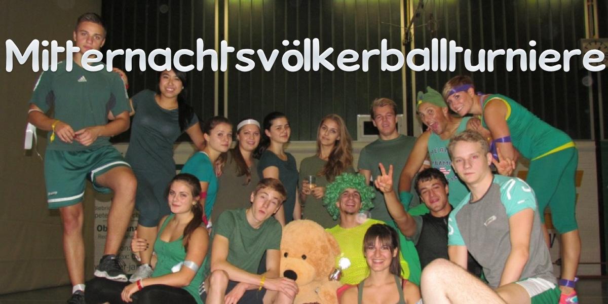 Mitternachtsvölkerballturniere